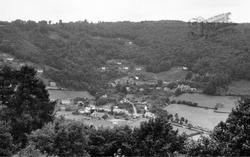 Llandogo, From Woodroyd c.1960