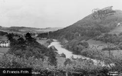 Llandogo, General View c.1955