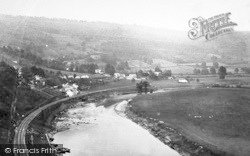 Llandogo, River Wye c.1877