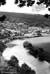 Llandogo, River Wye c.1955