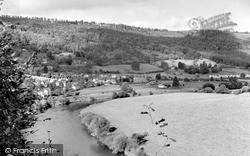 Llandogo, River Wye c.1961
