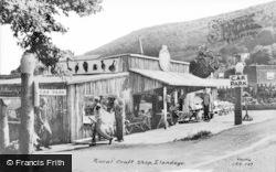 Llandogo, Rural Craft Shop c.1960