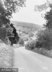 Llandogo, Village Entrance c.1955