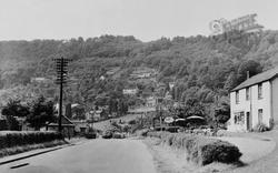 Llandogo, Village Street c.1955