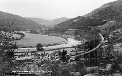 Llandogo, Wye Valley, Looking South c.1955