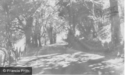 Approach To Town c.1965, Llandovery