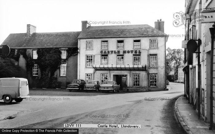 Photo of Llandovery, Castle Hotel 1965
