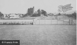 Castle Sports Ground c.1960, Llandovery