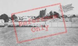 Castle Sprots Ground c.1960, Llandovery