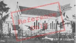 College Church c.1960, Llandovery