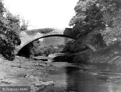 Llandovery, Dolauhirionn Bridge 1962