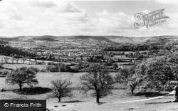 Llandovery, General View c.1960