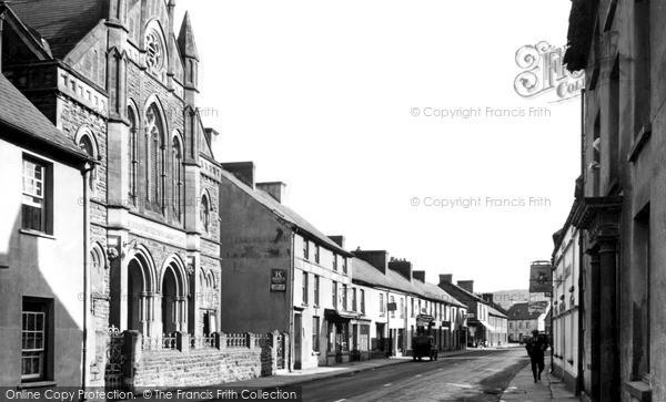 Photo of Llandovery, High Street c.1960