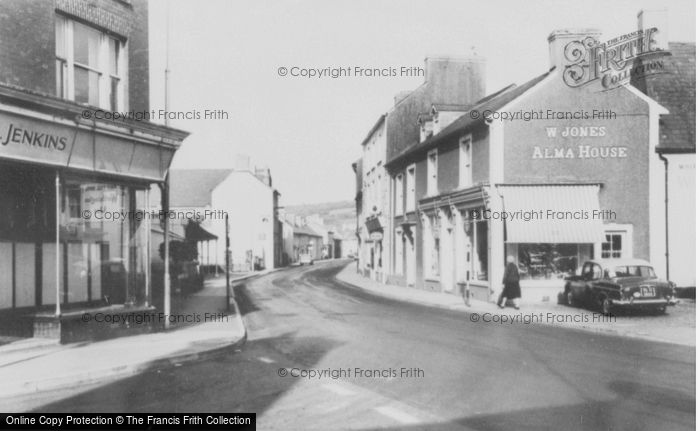 Photo of Llandovery, High Street c.1965