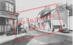 Llandovery, High Street c.1965