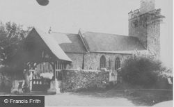 Llandovery, Llandignat Church c.1965