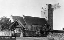 Llandovery, Llandingat (St Dingat's) Church c.1960