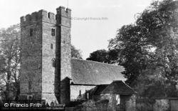 Llandovery, Llanfair Ar Y Bryn (St Mary's On The Hill) c.1960