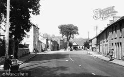 Llandovery, Main Street c.1955