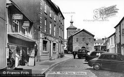 Llandovery, Market Square c.1955