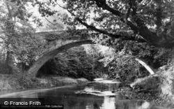 Llandovery, Pontnewydd Bridge c.1960