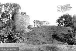 The Castle c.1955, Llandovery