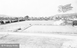 The Castle Sports Ground c.1960, Llandovery