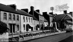 Llandovery, The Cenotaph c.1960