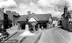 Llandovery, The Memorial c.1965