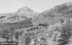Llandovery, The Sugar Loaf c.1960