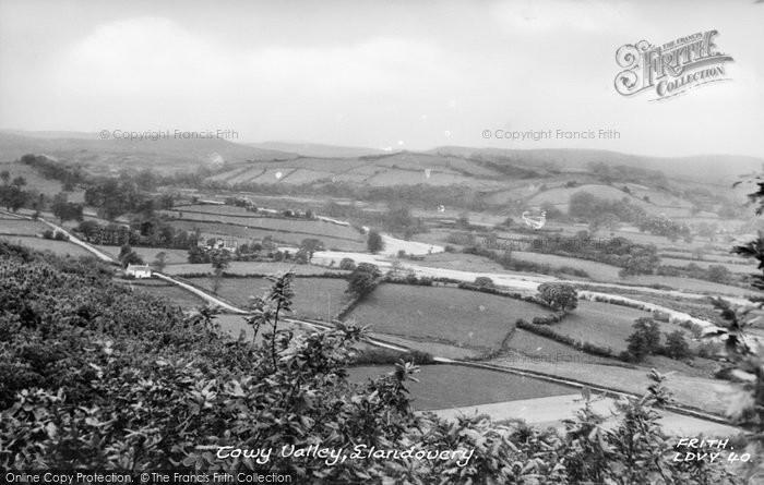 Photo of Llandovery, Towy Valley  c.1960