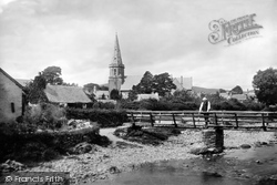 Llandrillo, St Trillo's Church And River 1888