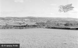 Llandrindod Wells, General View 1958