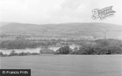 Llandrindod Wells, General View From Golf Links 1949