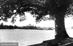 Llandrindod Wells, Lake Boat House c.1930