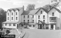 Llandrindod Wells, Rock Park Hotel 1958