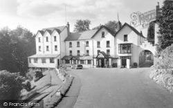 Llandrindod Wells, Rock Park Hotel c.1958