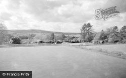 Llandrindod Wells, The Bowling Green 1962
