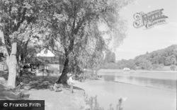 Llandrindod Wells, The Lake 1958