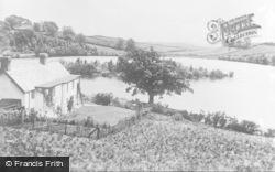 Llandrindod Wells, The Lake c.1930