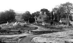 Llandrindod Wells, The Old Parish Church c.1950