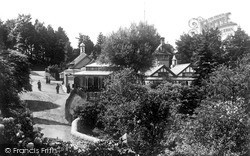 Llandrindod Wells, The Spa Pump House c.1909