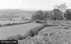 Llandrindod Wells, View From The Golf Links 1958