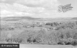 Llandrindod Wells, View From The Golf Links 1962