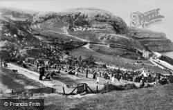 Llandudno, A Show At Happy Valley 1891