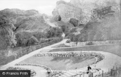 Llandudno, Caves In Rock Gardens, Happy Valley c.1946