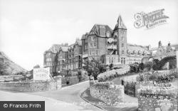 Llandudno, Cragside Hydro Hotel c.1955