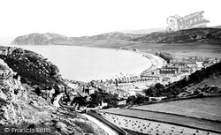 Llandudno, From The Mountain 1890