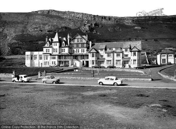 Photo of Llandudno, Gogarth Abbey Hotel c1965, ref. L71814