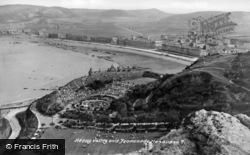Llandudno, Happy Valley And Promenade c.1946